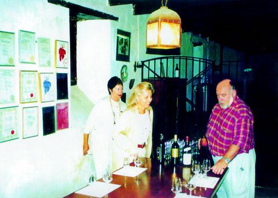 A cellar tasting at Meerlust